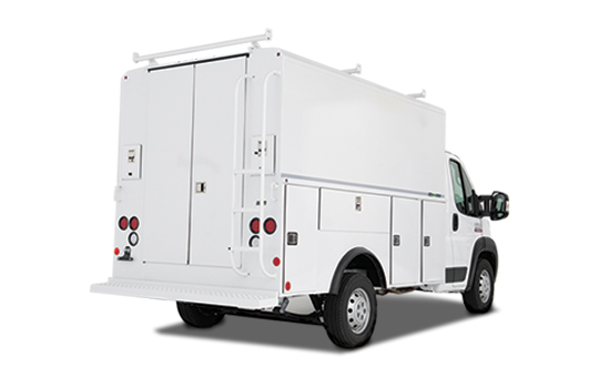 Aluminum Enclosed Bodies for Van and Low Cab Forward Chassis – Classic Service Van