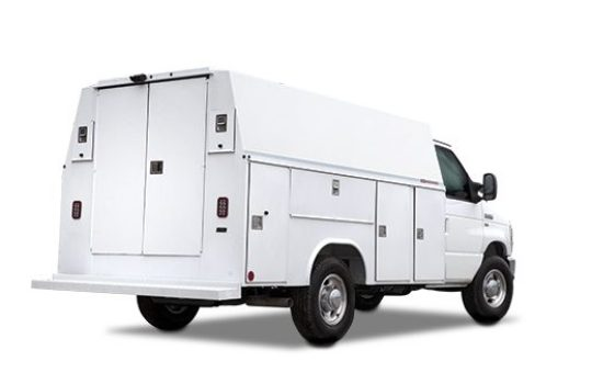 Steel Enclosed Bodies for Van and Low Cab Forward Chassis – Ready Van SL